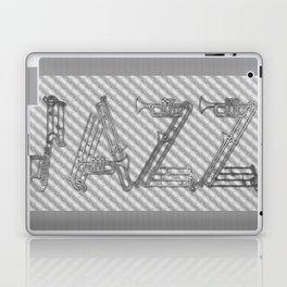JAZZ SILVER MUSICAL INSTRUMENTS Laptop & iPad Skin