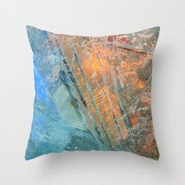 Ice 4 Throw Pillow