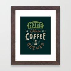 Home is Where Framed Art Print