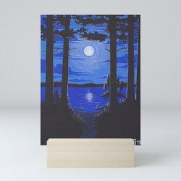 Moonlit Portage Mini Art Print