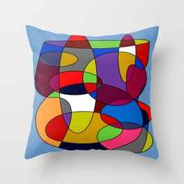 Abstract #28 Throw Pillow