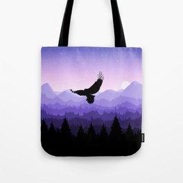 Eagle Skyline Tote Bag
