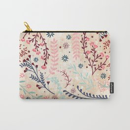 Chinese Flowery Fields Carry-All Pouch