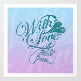 With love always Art Print