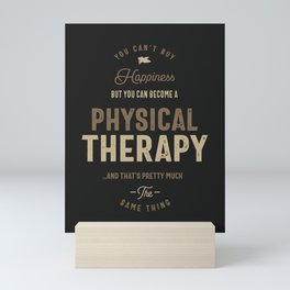 Physical Therapy Mini Art Print