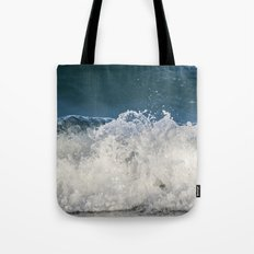 Sapphire and Crystals Saltwash Tote Bag
