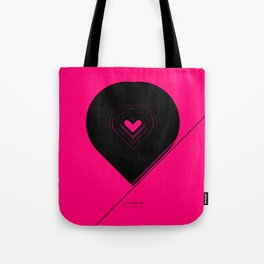 CRYPTIC HIPSTER HEART. Tote Bag