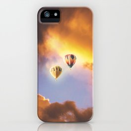 Bliss In The Skies iPhone Case