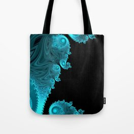 Black Ice - Fractal Art Tote Bag