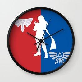 sport zelda Wall Clock