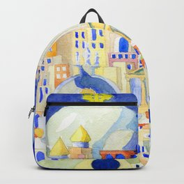 the town too far... Backpack