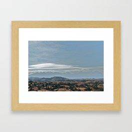 Dunes 1 - Dinosaurs 0 Framed Art Print