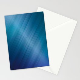 Jelly Bean & Blue Shades Metallic Pattern Stationery Cards
