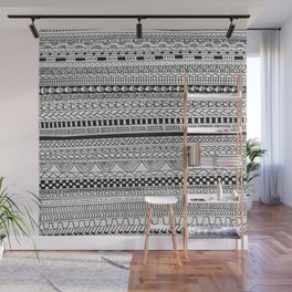 Pattern Line Abstract Wall Mural
