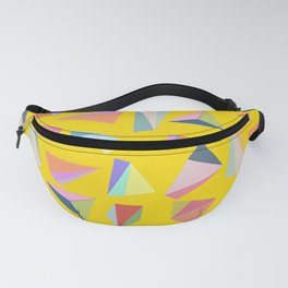 Colour Diamond Yellow Fanny Pack