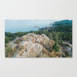 Sugarloaf from Above Canvas Print