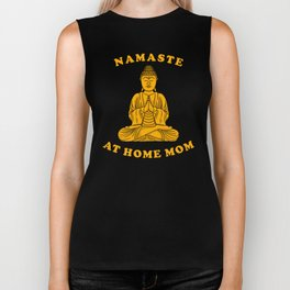 Namaste At Home Mom Biker Tank