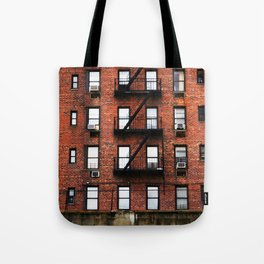 Red Brick Living in New York City  Tote Bag