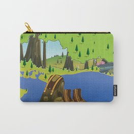 South Downs National Park England Carry-All Pouch