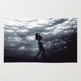 Space Mermaid Rug