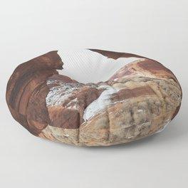 Window Rock Floor Pillow