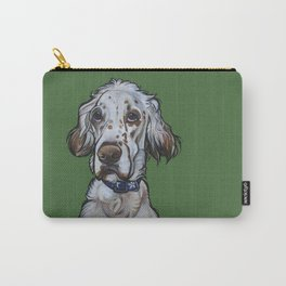 Ollie the English Setter Carry-All Pouch
