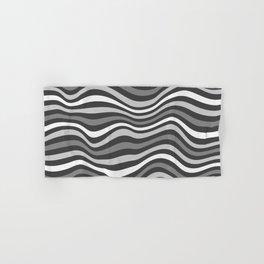 GrayWaving Hand & Bath Towel