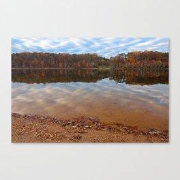 Seneca Fall Reflections Canvas Print
