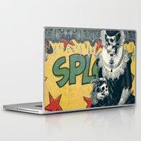 lady gaga Laptop & iPad Skins featuring Lady by Ali GULEC