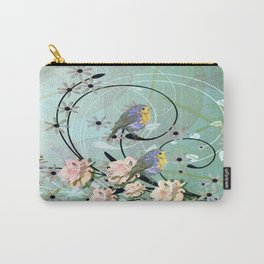 The Chickadee's Serenade Carry-All Pouch