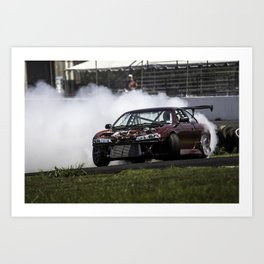 Steve Misko - ClubLoose Hot Moves '15 Art Print
