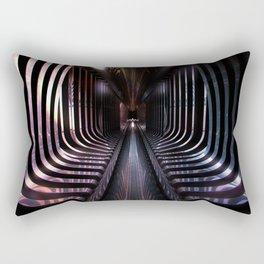 Split Infinities Rectangular Pillow