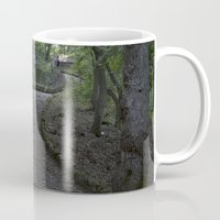 italian Mugs featuring Italian forest by F130284