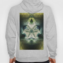 Triangle of light. Abstract Artwork. Hoody