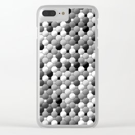 3105 Mosaic pattern #1 Clear iPhone Case