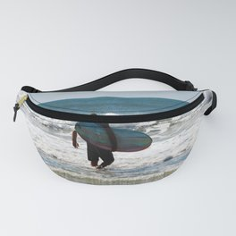 Surfer Dude At The Beach Fanny Pack