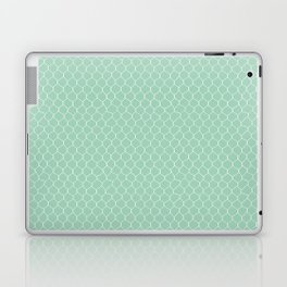 Chicken Wire Mint Laptop & iPad Skin