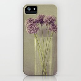 Fleurs iPhone Case