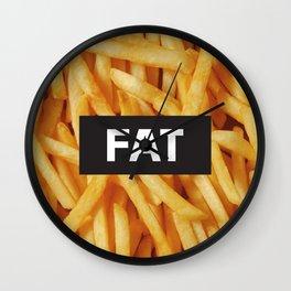 Fat Wall Clock
