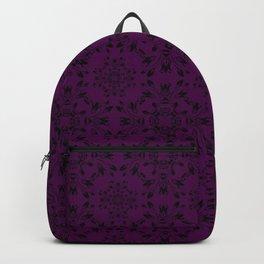Plum Purple Lace Backpack