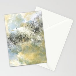 Vanishing Seagull Stationery Cards