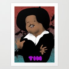 The Great Tim Maia Art Print