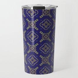 Royal [abstract pattern B] Travel Mug