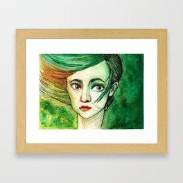 Forest Fey Framed Art Print