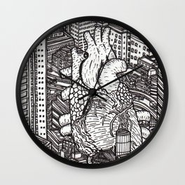 Tokyo Heart Wall Clock