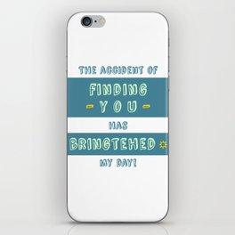 """Bringtehed"" iPhone Skin"