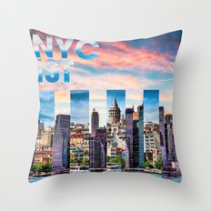 NYC-IST Throw Pillow