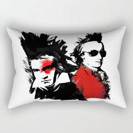 Beethoven Mozart Punk Composers Rectangular Pillow