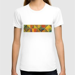 Color and Pattern Study Panorama T-shirt