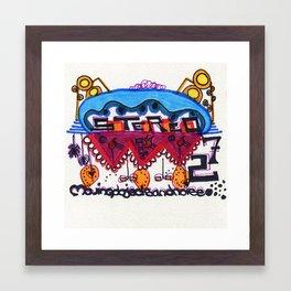 Stereo Framed Art Print